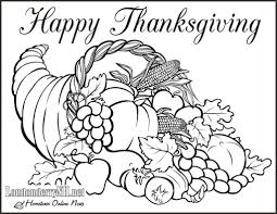 Thanksgiving Coloring Pages Pdf 1