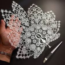 Hand Cut Mandalas And Other Intricate Paper Works By Mr Riu