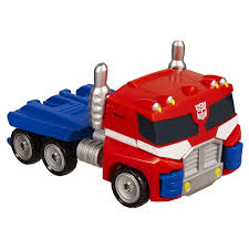 Playskool Heroes Transformers Rescue Bots Optimus Prime, Figures ...