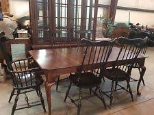 BOB TIMBERLAKE SOLID CHERRY 45x76 Extends 124DINING TABLE W 6 CHAIRS LEXINGTON