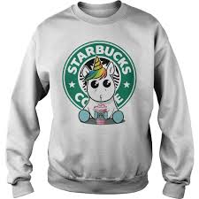 Hoodie Unicorn Drink Starbucks Coffee Sweater