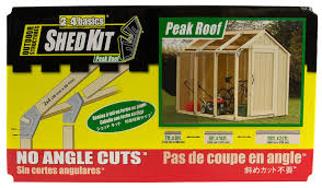 Yardsaver Shed Floor Kit by Amazon Com Hopkins 90192 2x4basics Shed Kit Peak Style Roof