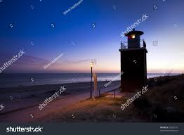 100 Island Of Fohr Small Lighthouse Beach Wyk Stock Photo Edit Now 93302155
