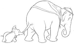 Coloriage Dumbo Dans Le Bain À Imprimer Sur Coloriages Inside