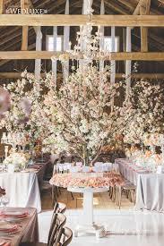 Cherry Blossom Wedding By Rachel A Clingen Luxury Barn