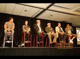 Halloween 2 1978 Cast by Halloween U0027 Reunion Q U0026a Panel Flashback Weekend Chicago 2015 Youtube
