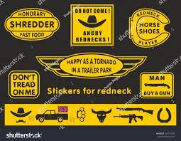 100 Redneck Truck Stickers S Stock Vector Royalty Free 421143280 Shutterstock