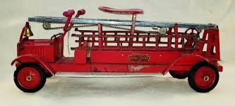 100 Tootsie Toy Fire Truck Antique Packard 30 Keystone Aerial Ladder 79 Rideon