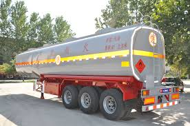 100 Semi Truck Fuel Tanks Stainless Steel Fuel Tank Semitrailertanker With Good Dimension