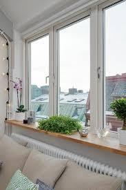 fensterbank deko mit pflanzen ideen für mehr grün im raum
