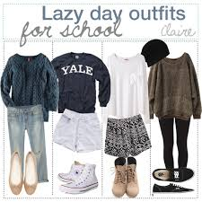 Lazy Day Outfits For School Polyvore