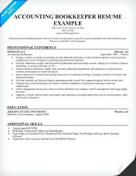 Bookkeeping Resume Objective Accounting Sample I Put This On Board For A Reason