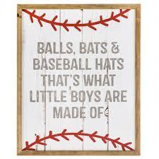 Hobby Lobby Wall Decor by Balls Bats U0026 Baseball Hats Wood Wall Decor Hobby Lobby 1468826