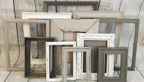 Gorgeous Design Frame Sets For Wall Also Rustic Decor Farmhouse Distressed Frames Like This Item Collage Gallery Picture Photo