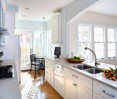 Narrow Galley Kitchen Ideas by Opening A Wall Up In A Galley Kitchen Design Ideas Pictures