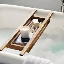 Taymor Teak Bathtub Caddy by Bath Tray Reclaimed Wood Tray Bathroom Decor Bath Caddy Wooden