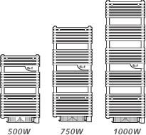 radiateur électrique salle de bains riva tendance digital thermor