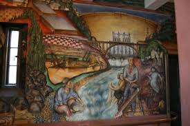 Coit Tower Murals Images coit tower howard mural san francisco ca living new deal