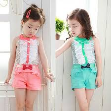 Jilly Summer Style Baby Girl Kids Clothes Bow Princess Clothing Set Girls