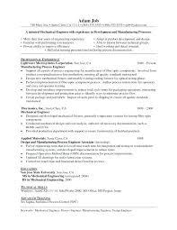 Sample Manufacturing Resume Samples For
