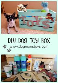 A Super Cute DIY Dog Toy Box For All Of Your Pups Toys Be Sure