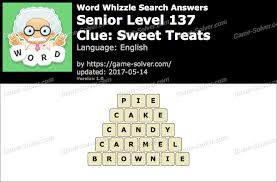 Word Whizzle Search Senior Level 137 Answers Game Solver