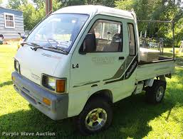 100 Hijet Mini Truck 1991 Daihatsu HiJet Mini Truck Item DE7188 SOLD August