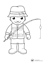 Coloring Page Fisherman Jobs 2
