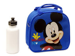 Mickey Mouse Bathroom Set Amazon by Amazon Com Disney Mickey Mouse Lunch Box Bag With Shoulder Strap