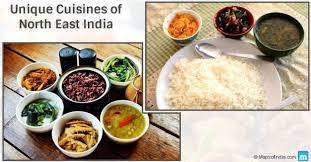 cuisines of connectivity between cuisines of east india and south east