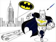 Batman Cartoon Coloring Game