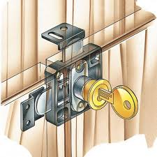 Best Magnetic Locks For Cabinets by Double Door Lock Rockler Woodworking And Hardware