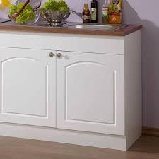 landhaus küchenzeile lotte in weiß 5 teilig