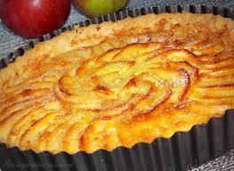 recette dessert aux pommes tarte aux pommes au beurre à la cannelle le cuisine de samar