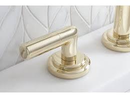 Rohl Unlacquered Brass Faucet by K U0026b Galleries Kallista Pure Paletta Sink Faucet Low Spout