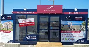 immobilier neuf ouverture du bureau de vente pour port marceau