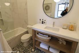 remodelaholic get this look 5 modern farmhouse bathroom
