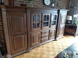 massiv holz schrank eiche wohnzimmerschrank antik ebay