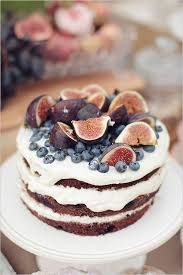 Fig And Blueberry Cake