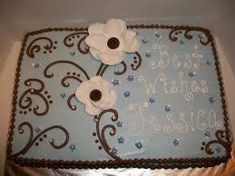 1 2 Sheet Cake Bridal Shower