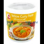 pâte de curry jaune 400g touantouan