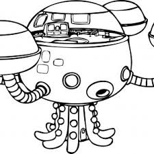 Octonaut Coloring Pages Pics Of Dashi Dog Octonauts