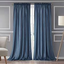 blau blickdichte vorhänge und weitere gardinen vorhänge
