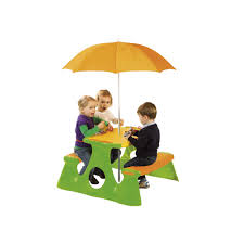 picnic table with umbrella kids furniture pinterest picnic