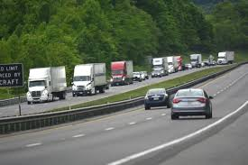 100 Ta Truck Stop Wytheville Va Bland County Residents Contend With Traffic From I77 Detour News