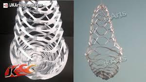 DIY Easy Paper Lantern Chandelier Decoration