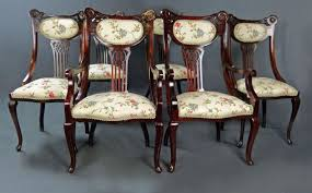 Antique Furniture   Antique Cupboards   Antique Tables   Antique ... Set Of 4 Quality Art Nouveau Golden Oak High Slat Back Ding Chairs 554 Art Nouveau Ding Table And Chairs 3d Model Vintage 6 Antique French 1900 Walnut Nailhead Set 8 Edwardian Satinwood Beech Four Art Nouveau Louis Majorelle Ding Chairs Jan 16 2019 Room And Sale Mid Century Hand Made Game By Terry Bostwick Casa Padrino Luxury Dark Brown Cream 51 X Round In The Unique Timeless Tufted Armchair Chair Blue Velvet Navy 1900s Vinterior