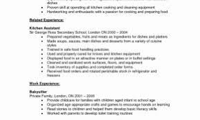 Resume Objective Examples For Kitchen Manager Luxury Mcdonalds Sample New Resumes