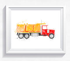 Watercolor Dump Truck Printable, Dump Truck Wall Art, Construction ... Cartoon Fire Truck New Wall Art Lovely Fire Truck Wall Art Mural For Boys Rooms Gavins Room Room Dump Decor Dumper Print Cstruction Kids Bedrooms Nurseries Di Lewis Nursery Trucks Prints Smw267c Custom Metal 1957 Classic Chevy Sunriver Works Ford Fine America Ben Franklin Crafts And Frame Shop Make Your Own Vintage Smw363 Car 1940 Personalized Stupell Industries Christmas Tree Lane Red Zulily Design Running Stickers For Vinyl
