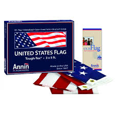 American Flag 3 ft x 5 ft Tough Tex by Annin Model 2710 US